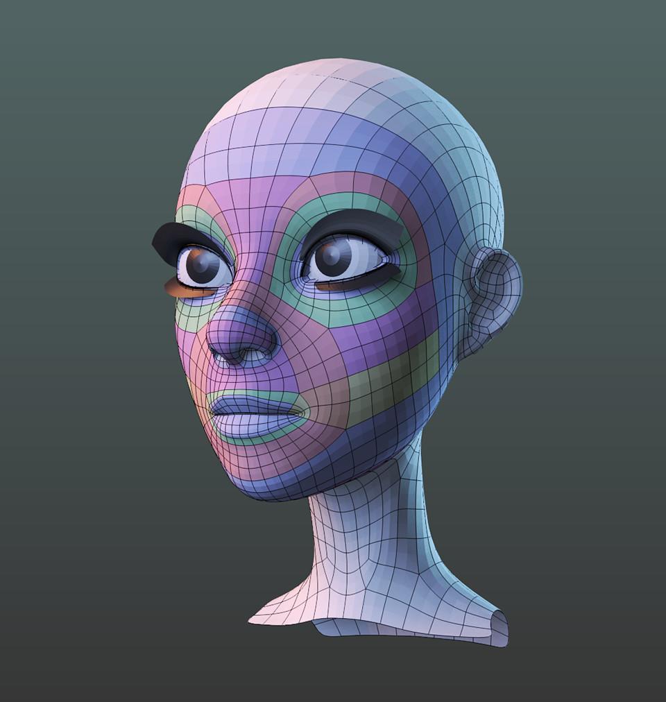 Работа с персонажем, система Flex RiG. Анимация эпизода